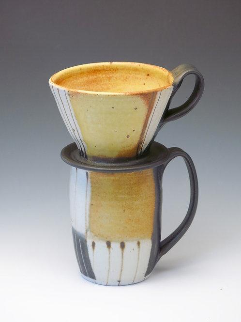 Coffee Mug & Pour Over set (1 available)
