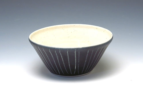 White Stripe Bowl (up to 4 available)