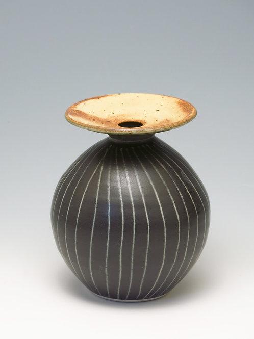 Round Pumpkin Vase (medium)