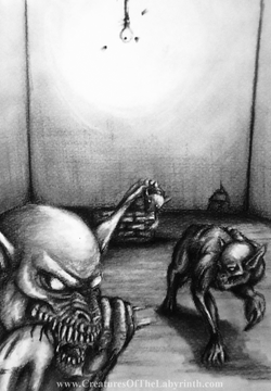 Ghouls feeding