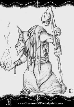Ghoul shaman