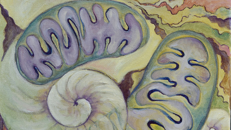 """Fine Art Paper Print of """"Primordial Life Forms'"""