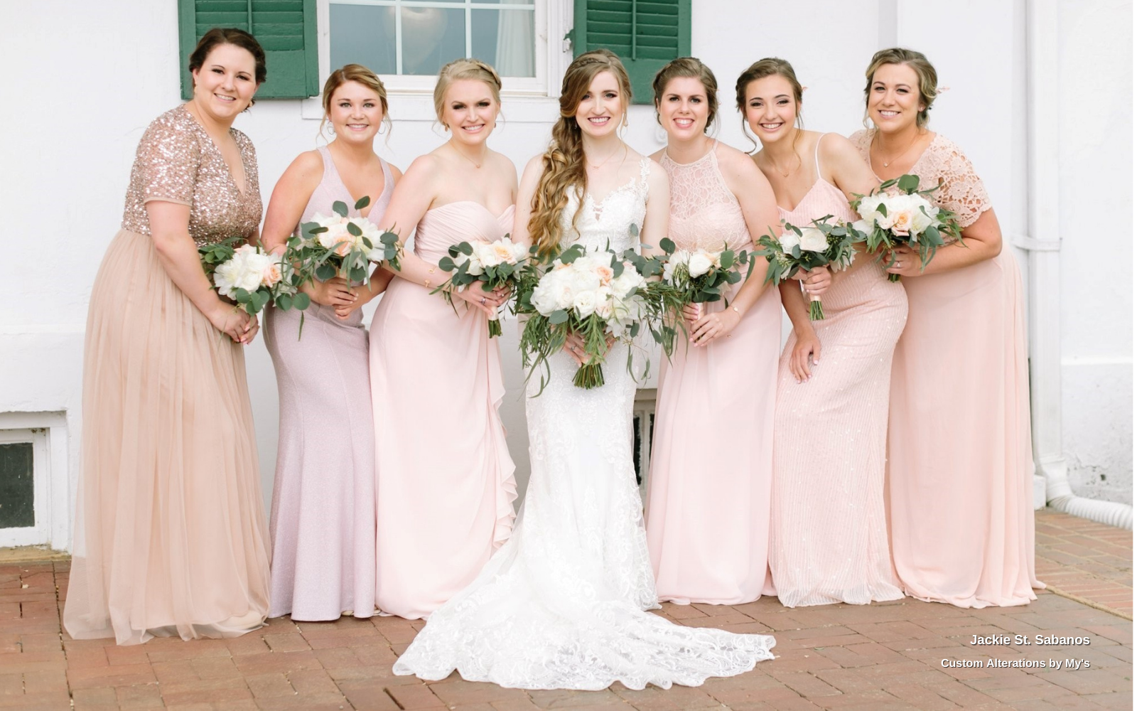 Jackie Sabanos's Bridal Party