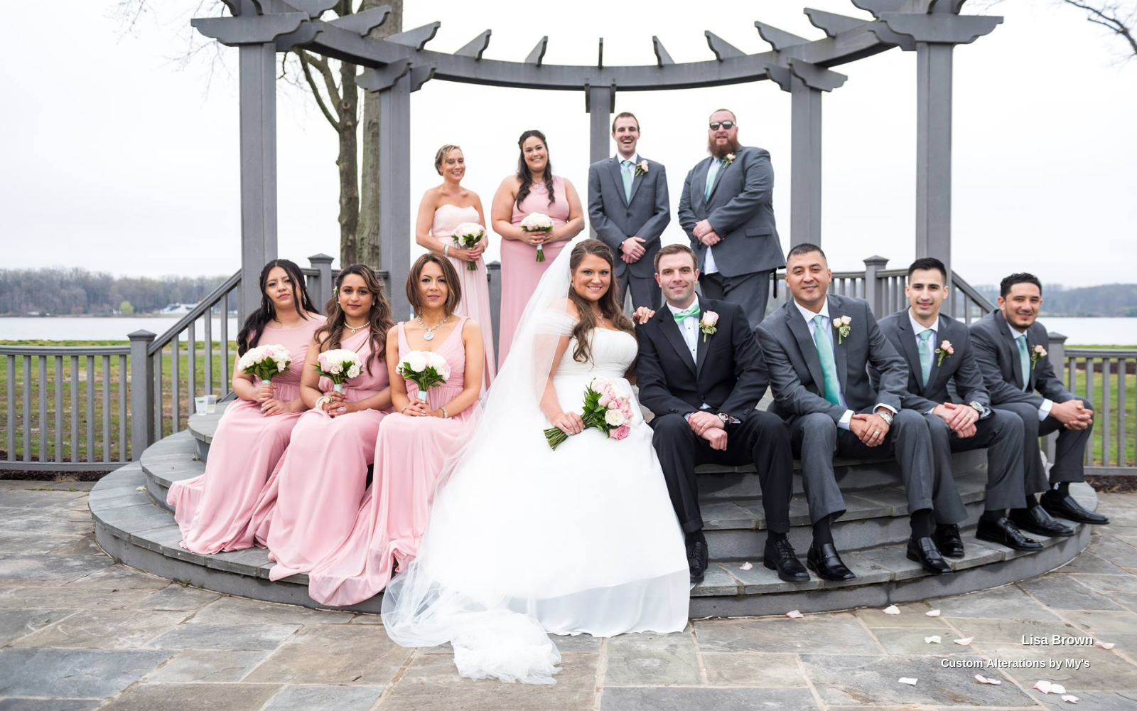 Lisa Brown's Bridal Party