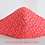Thumbnail: CHRISTMAS HOLIDAY 3LAYER FABRIC FACE MASK, (COLLECTION #8)