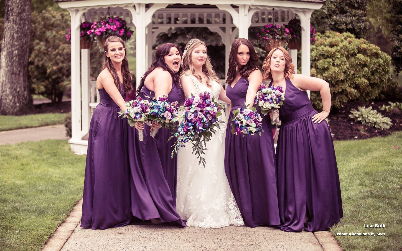 Lisa Buffi's Bridal Party