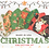 Thumbnail: CHRISTMAS HOLIDAY 3LAYER FABRIC FACE MASK, (COLLECTION #7)