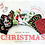 Thumbnail: CHRISTMAS HOLIDAY 3LAYER FABRIC FACE MASK, (COLLECTION #3)