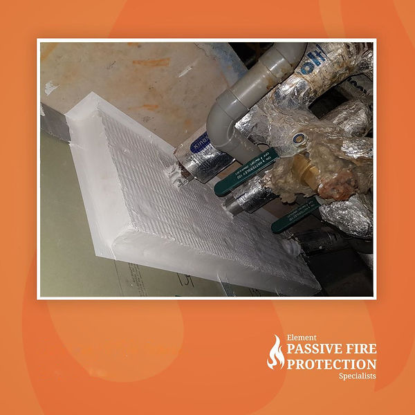Element Passive Fire Protection - Pipe P