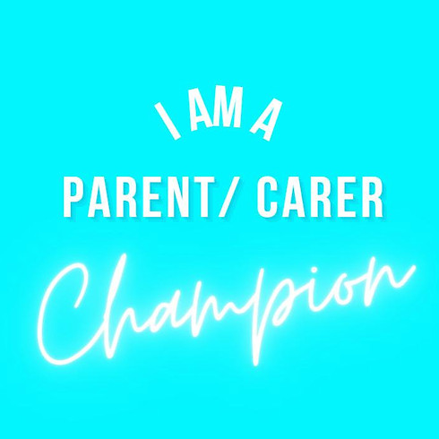 "Parent & Carer Champions Network ""YOUR SPACE - Let's Talk"" Online Session"