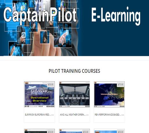 CaptainPilot E-Learning Pilot Training Courses