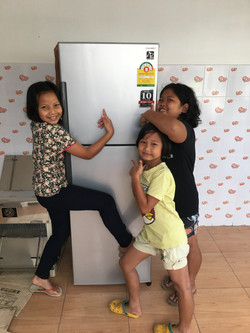 Mercy House purchase of refrigerator 2015