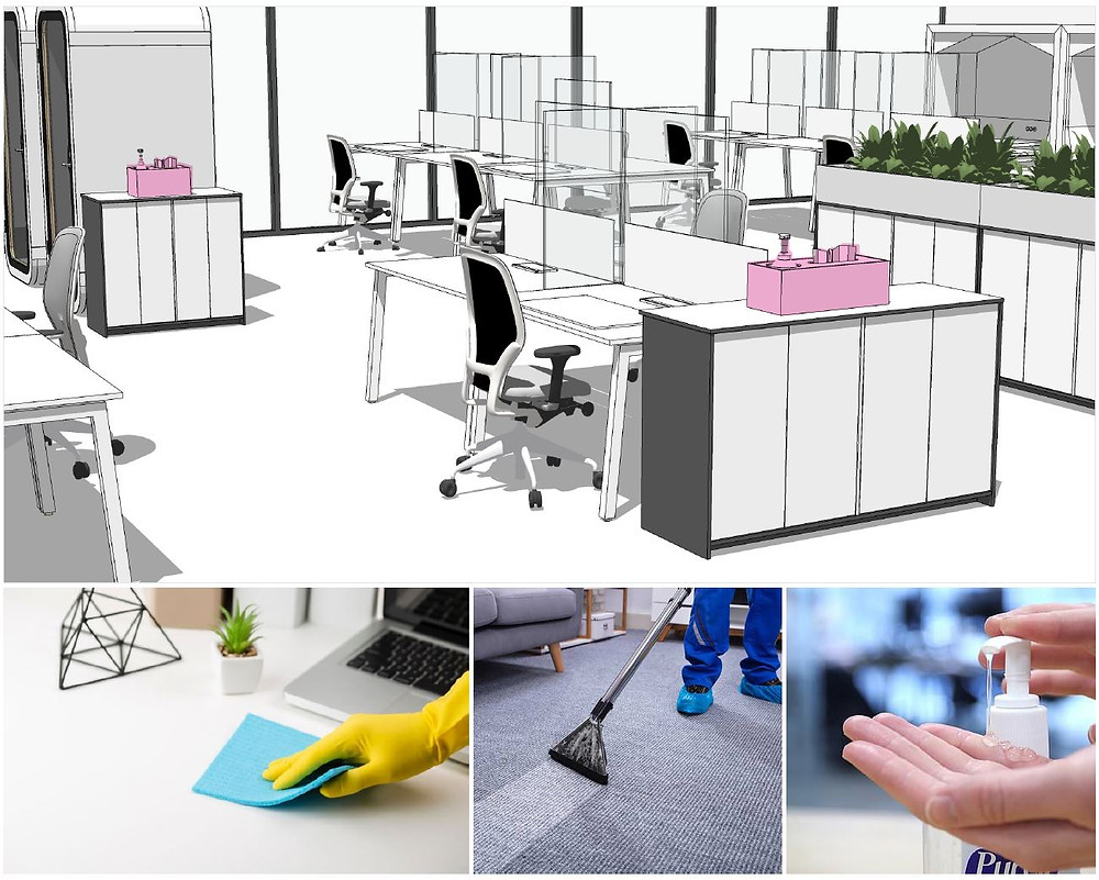 Deep cleaning products for your office to keep staff safe