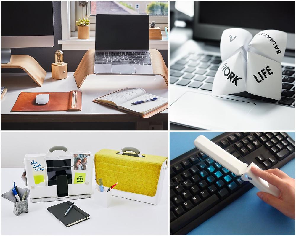 Flexible working, keyboard, work life balance, hotbox, AV lightstick, laptop stand, working from home.