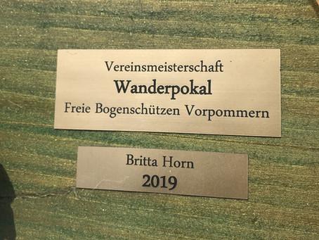 Neue Vereinsmeister am 13.6.20!