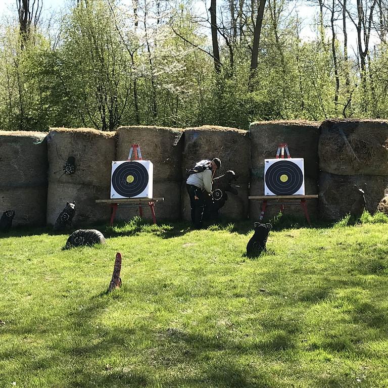 Training und Parcours-Besuch