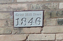 2016 photo of Grist Mill Store cornersto