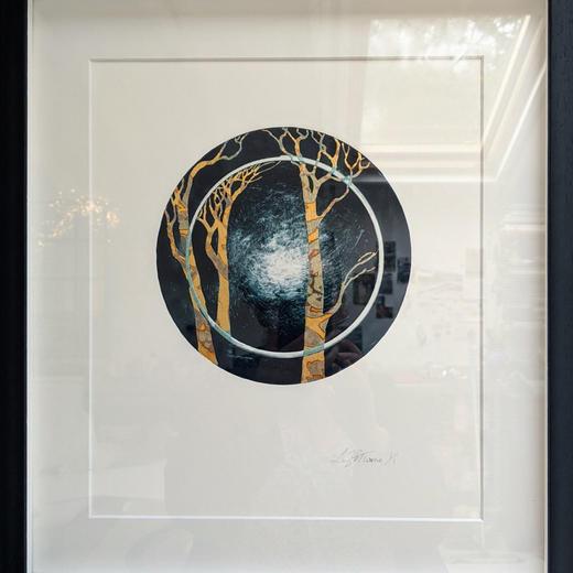 Framed Monoprint II
