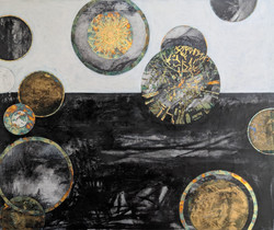 'Floating Worlds' Sold by Wychwood Art