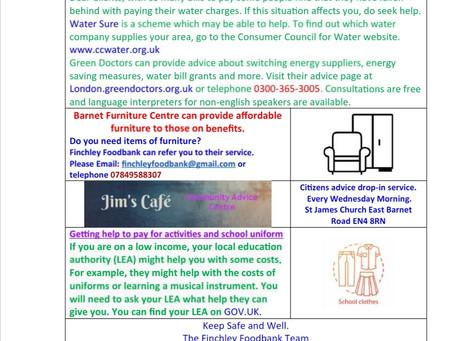 Client newsletter 4th September 2021