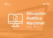 Leé nuestro Monitor de Opinión Pública Nacional de Abril