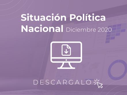 Encuesta de Diciembre 2020 Situación Política Nacional