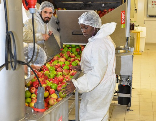 L'industrie alimentaire est         le 1er employeur industriel       de Lot-et-Garonne