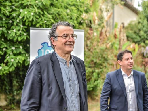 Départementales: Pierre Chollet assume un (très) large rassemblement