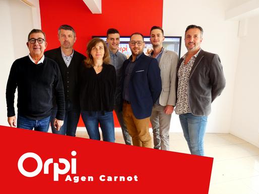 Agen Immobilier prend un nouveau virage et rejoint le réseau Orpi