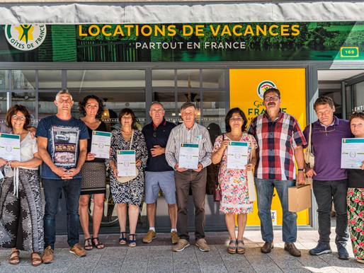 Gîtes de France distingue neuf hébergements lot-et-garonnais