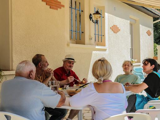 Les maisons partagées pour favoriser le bien vieillir             en communauté