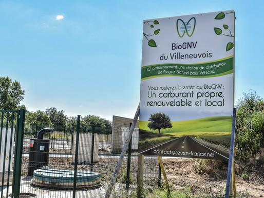 Le BioGNV, carburant d'avenir, débarque à Villeneuve