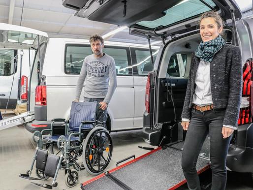 Camp Automobilité : l'indispensable du transport handicapé