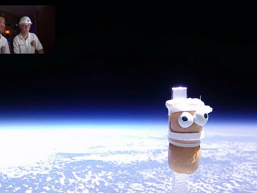 Des Foulayronnais ont envoyé une saucisse cocktail dans l'espace