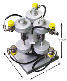 40,000 psi Ultra-High Pressure Injector System