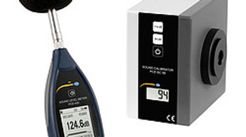 Class 1 Sound Level Meter PCE-430 with Calibrator