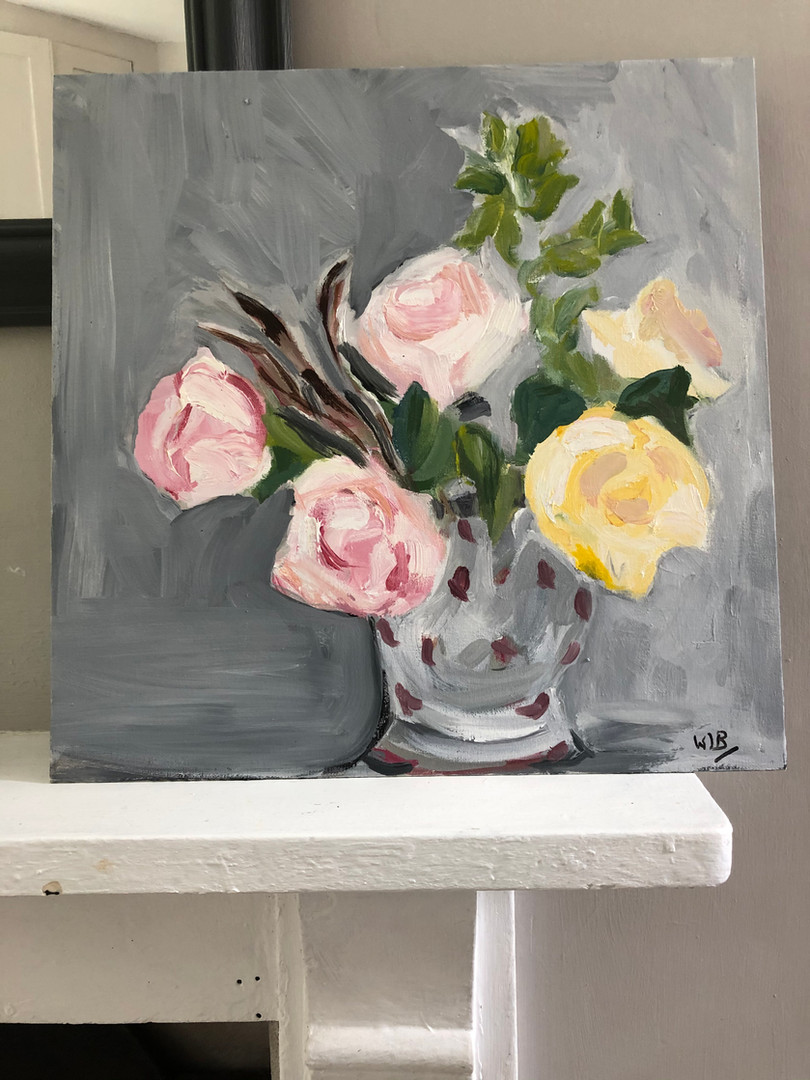 Roses and Herbs Wendy Barber
