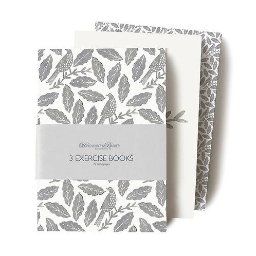 Songbird soft exercise books (set of 3) 274018U