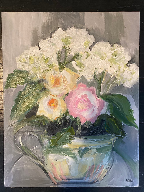 September Roses with Hydrangeas 4