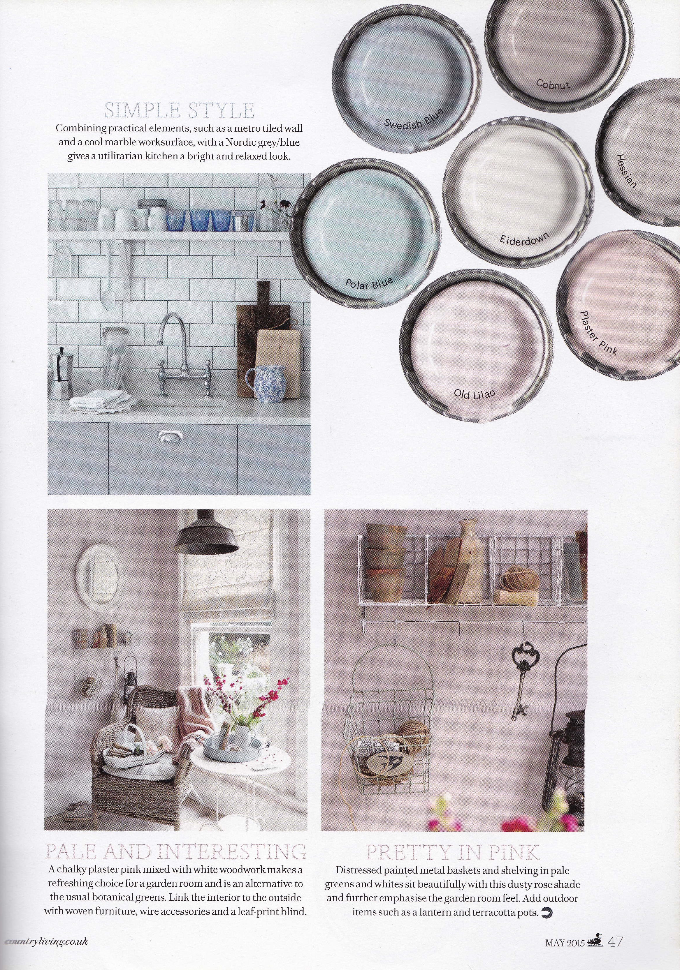 Country Living May 2015