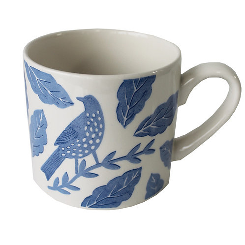 Songbird Blue Mug