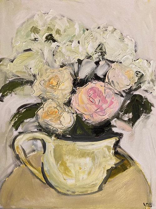 September Roses with Hydrangeas 5