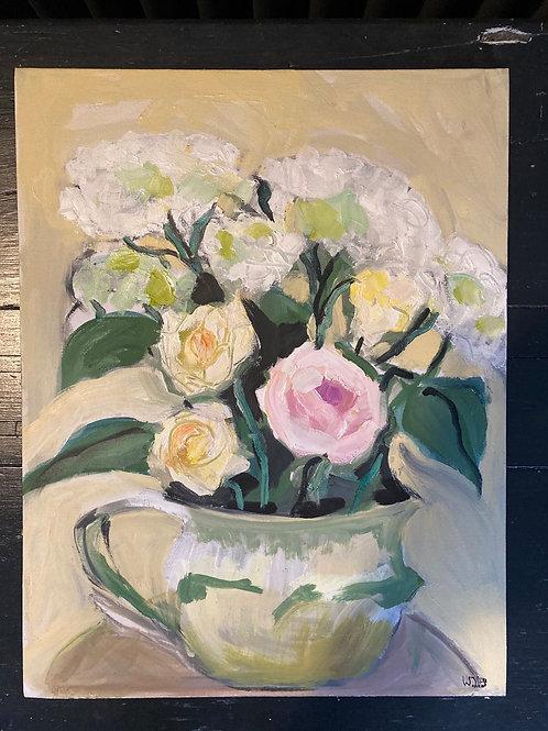 September Roses with Hydrangeas 1