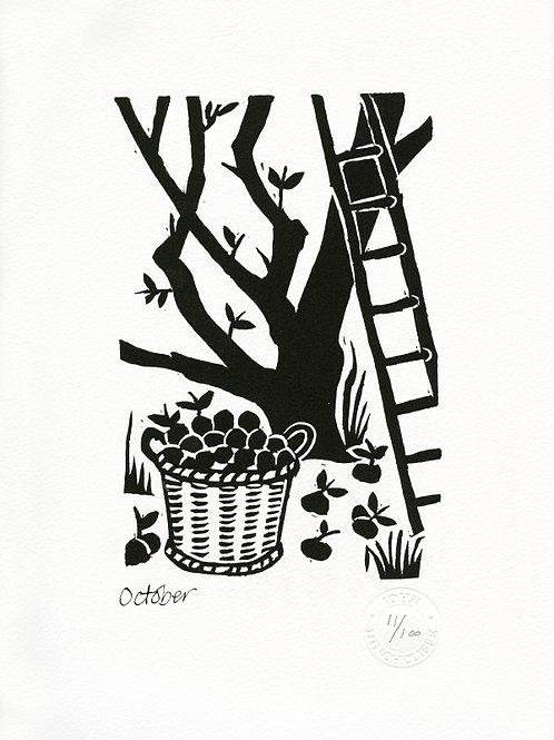 October Print