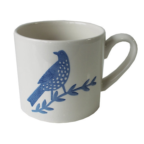 Songbird Blue Single Bird Mug