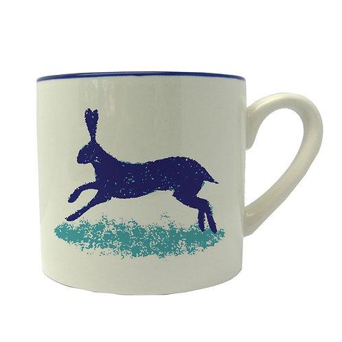 Dorset Delft Hare Mug