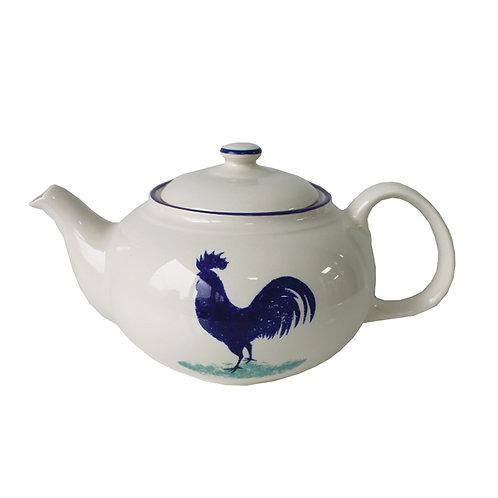 Dorset Delft Cockerel Teapot
