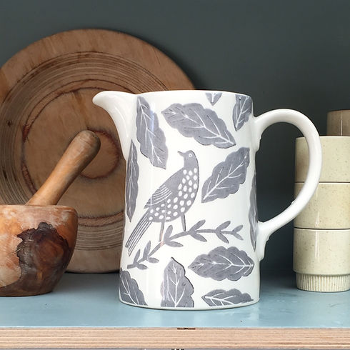 Songbird Grey Jug