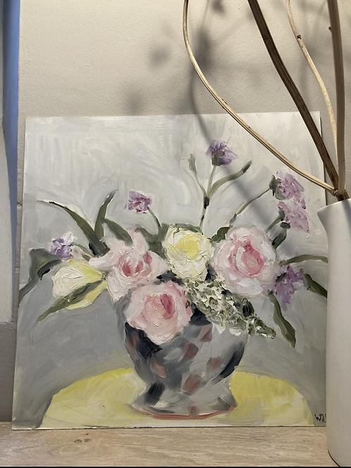 September Roses with Verbena 1