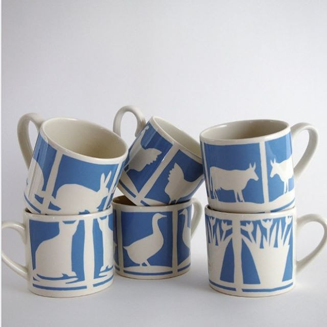 These mugs are some of the first we made